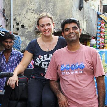 Christina Franzisket & Nagender Chhikara